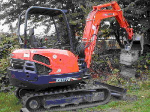 Where to find EXCAVATOR,KUBTA KX121  8 w thumb in Camarillo