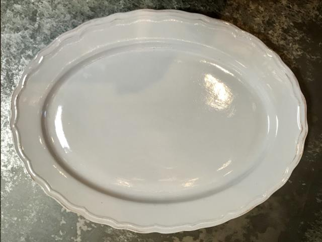 Where to find CHINA, SCALLOP OVAL PLATER 14 in Camarillo