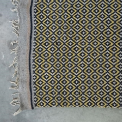 Where to rent LOUNGE, RUG 4.5  x 6.5  BLACK YELLOW DIA in Camarillo CA