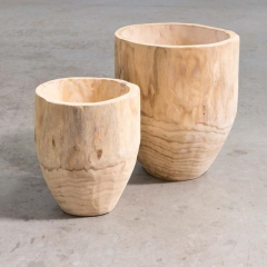 Where to rent VASE, RAW WOOD LG 16 in Camarillo CA