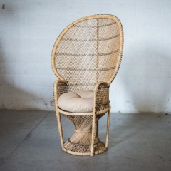 Where to rent LOUNGE, CHAIR PEACOCK RATTAN in Camarillo CA
