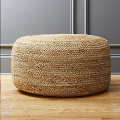 Where to rent LOUNGE, POUF BRAIDED HEMP in Camarillo CA