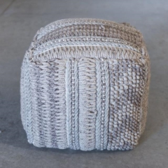 Where to rent LOUNGE, POUF NUBBY WEAVE in Camarillo CA