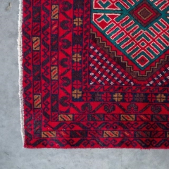 Where to rent LOUNGE, RUG 3  x 5  RED AZTEC in Camarillo CA