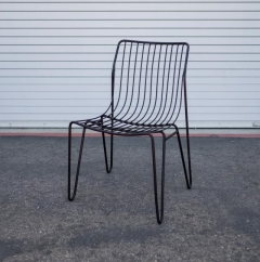 Where to rent LOUNGE, CHAIR BLACK HAIRPIN in Camarillo CA