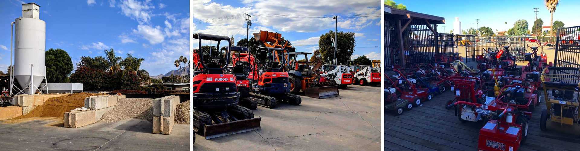 Equipment Rentals in Ventura County